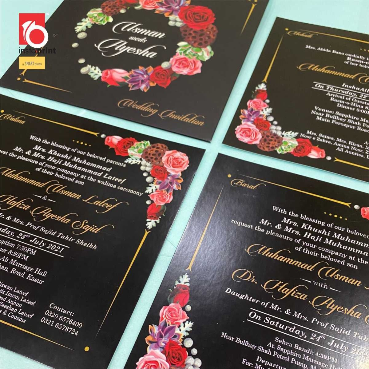 Wedding Cards With Envelop