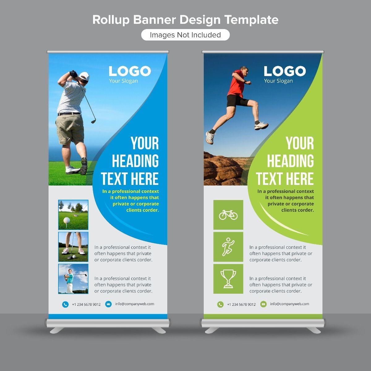 Insta Print Marketing Material Flex Standee (2*5)