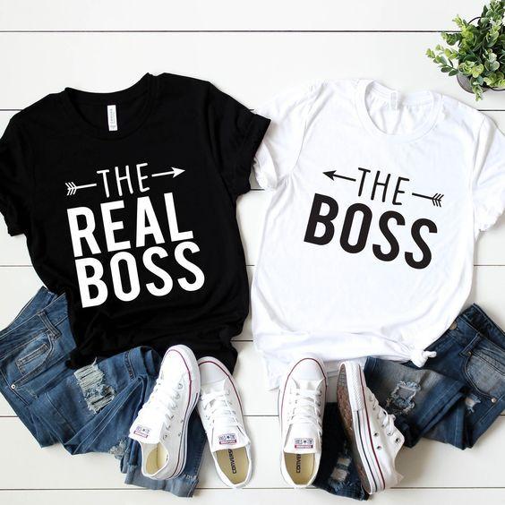 Insta Print All Couple T-shirt