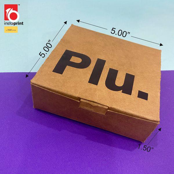 Craft Card Packing Box
