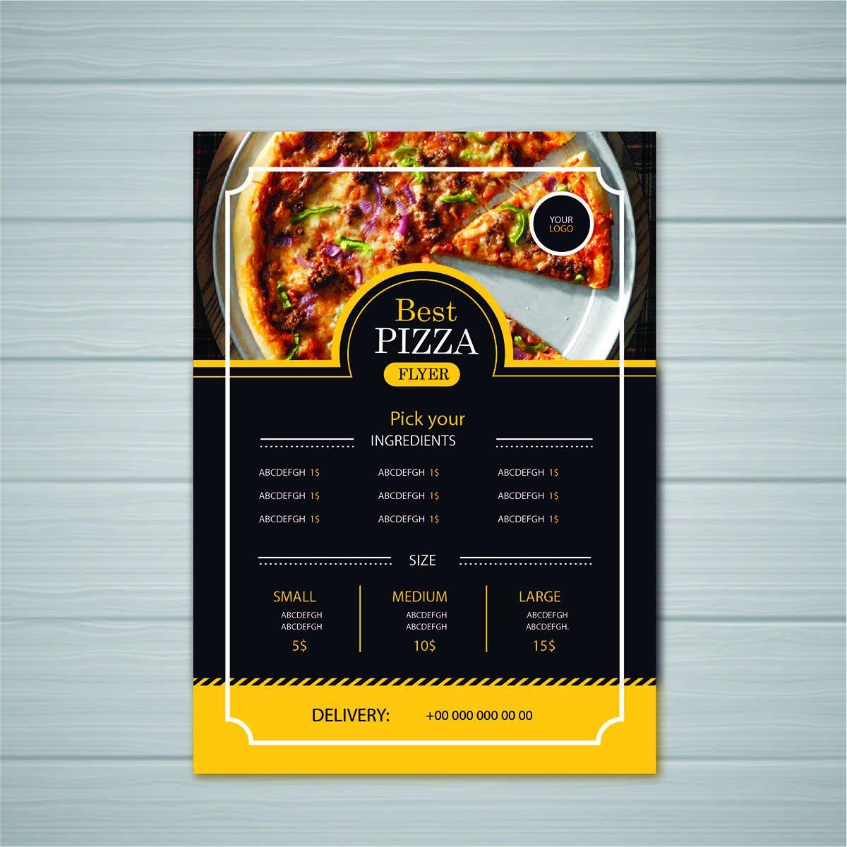 Insta Print Marketing Material Menu