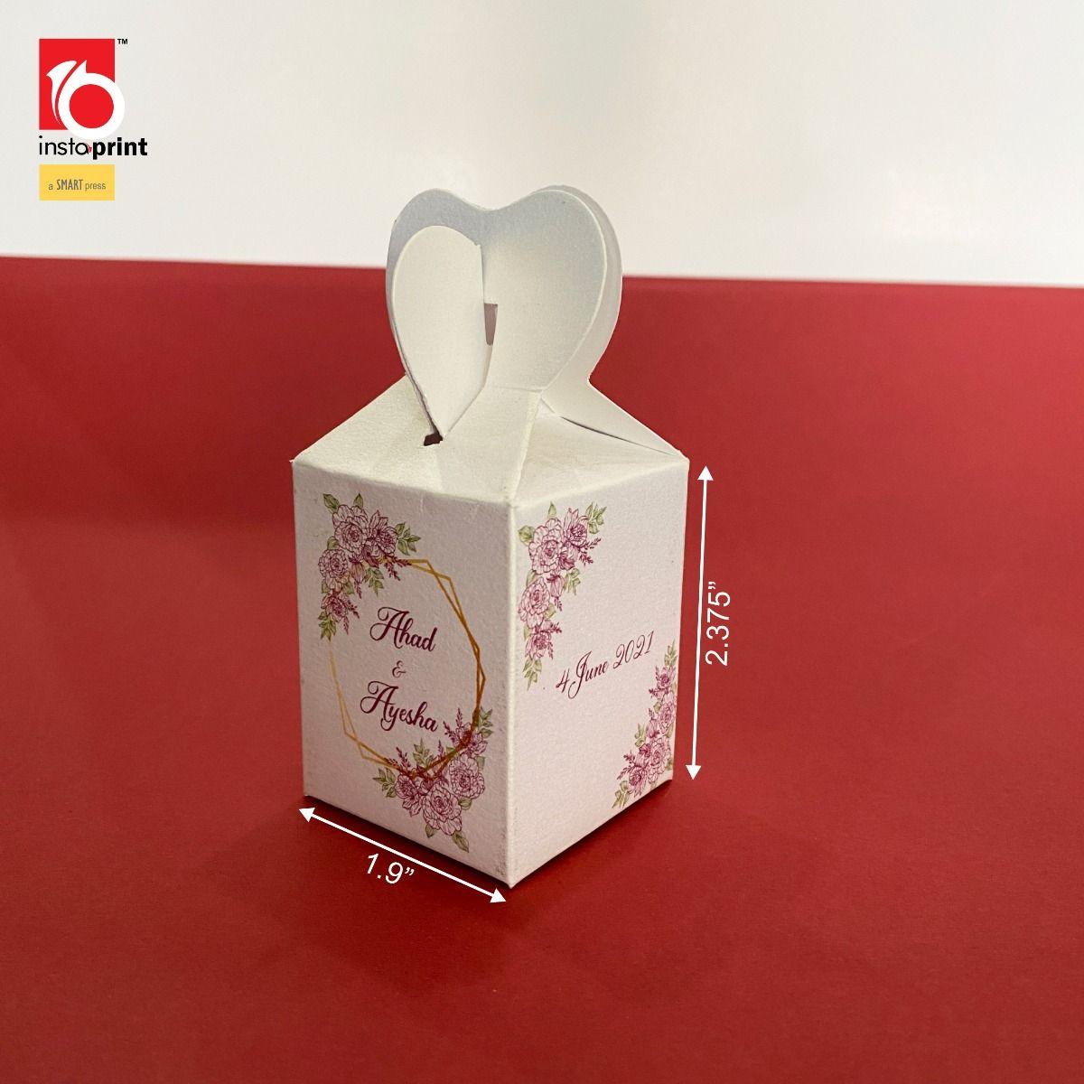 Insta Print All Nikkah sweet Box