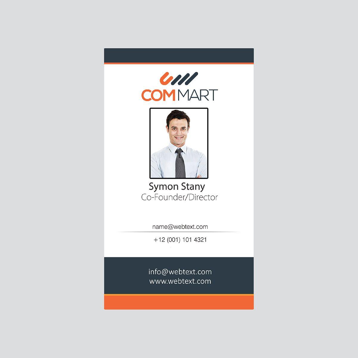 Insta Print All PVC Cards (Vertical) Custom