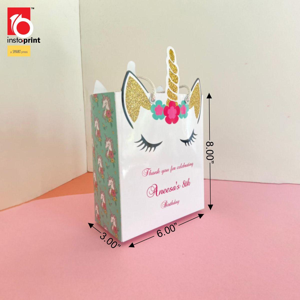 Unicorn Theme Birthday Gudi Bag