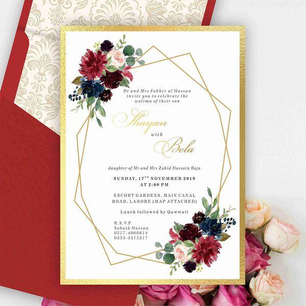 Insta Print All Wedding Cards
